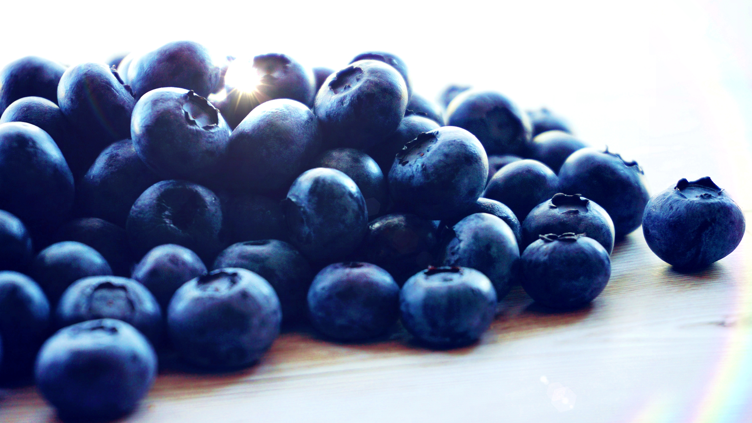 Blueberries - Up Close