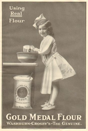 Gold Medal Flour Ad