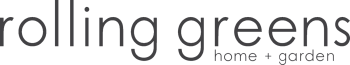 rolling greens home and garden logo